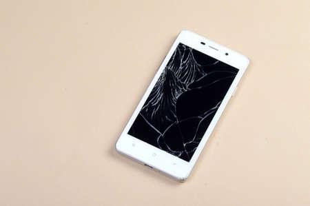 Smart Phone with broken screen