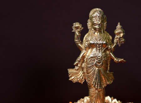 Lakshmi - Hindu goddess ,Goddess Lakshmi. Goddess Lakshmi during Diwali Celebration. Indian Hindu Light Festival called Diwali