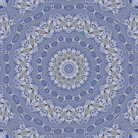 absract: Blue and white absract pattern background Stock Photo