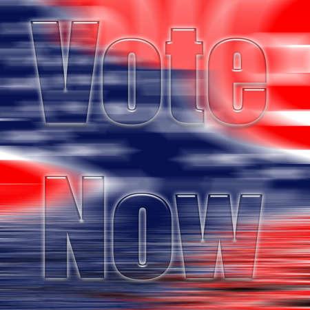 A USA flag color illustration Фото со стока