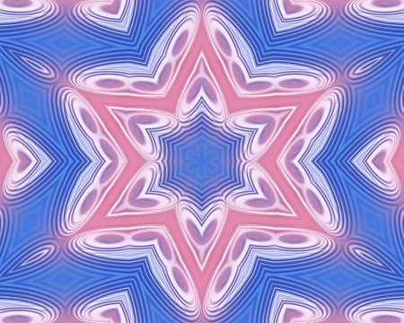 Pink and blue abstract pattern background filling the frame Stock Photo