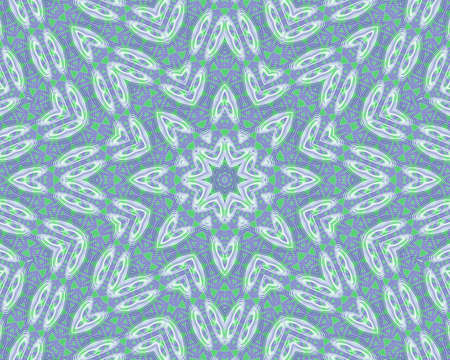 Green and blue abstract pattern background