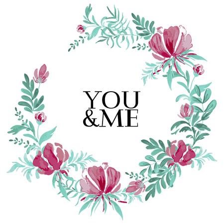 Hand Sketched You And Me Text As Happy Valentine's Day Logotype Delectable Happy Valentines Day Romantic Quotes