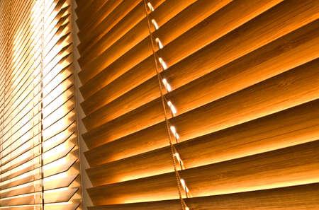 Bamboo horizontal  jalousies
