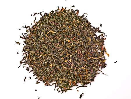Multi-coloured tea or tobacco