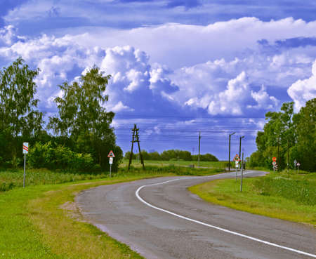 ry: Railway crossroads