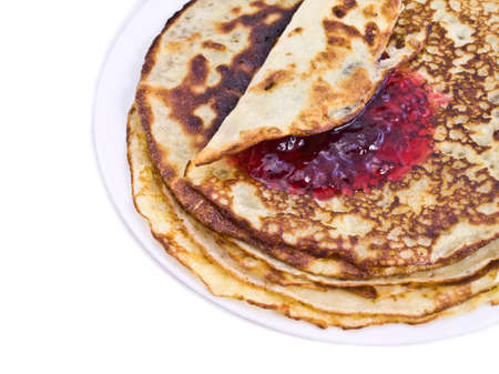 Pancakes on a plate  photo