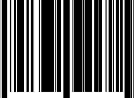 the bar code, isolated closeup Stock Photo - 3901268