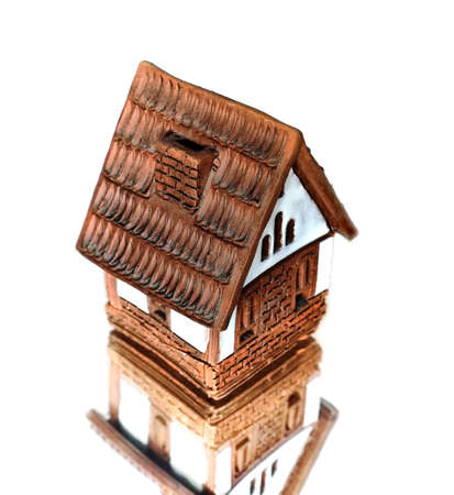the brick house; mirroring       Stock Photo - 5053984
