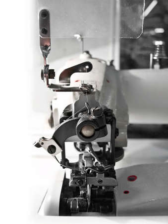 the over-stitching machine Stock Photo - 5224928
