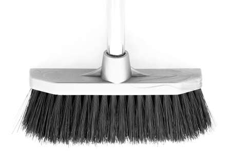 the broom, closeup isolated        Stock Photo - 5270123