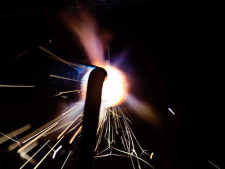 the gas welding, closeup  Stock Photo - 5484094