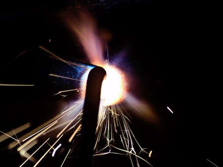 the gas welding, closeup Stock Photo - 5484094