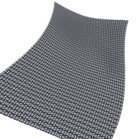 hauberk: floor-mat; hauberk, etc., in motion