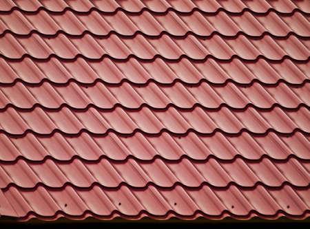 Helling van betegeld dak  Stockfoto