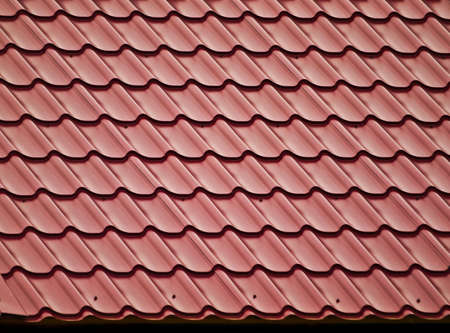 Slope of tiled roof  photo