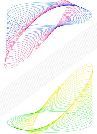 meshy: Colorful closed elements