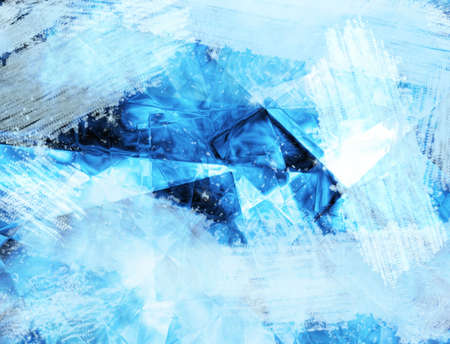 abstract frozen background photo