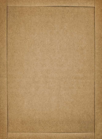 cardboard texture: Cardboard frame, closeup