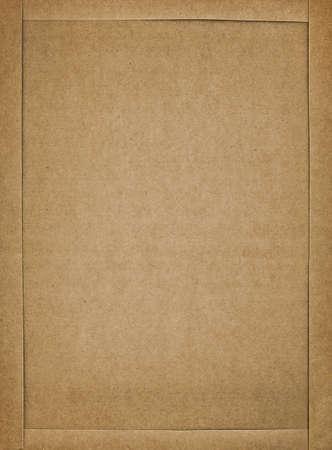 Karton Frame, Nahaufnahme
