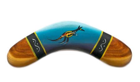 Boomerang verniciato  Archivio Fotografico - 7290525