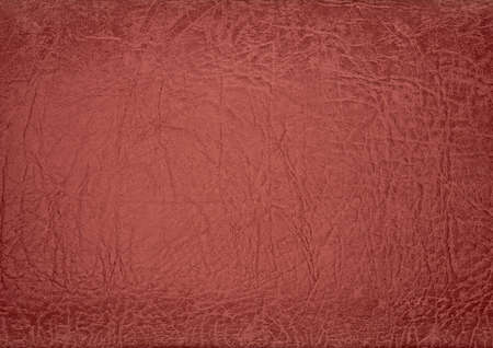 red leather texture: tanned leather Stock Photo