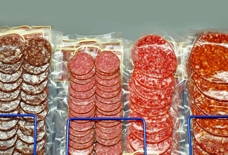 Salami sausages  photo