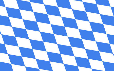 tessellated: bavaria flag Illustration