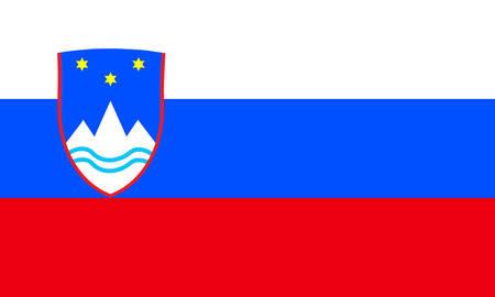 Slovenia flag Stock Vector - 7825557