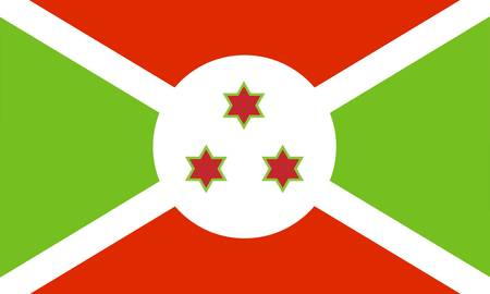 Burundi flag Stock Vector - 7829504