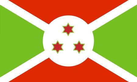Burundi flag Stock Vector - 7829504
