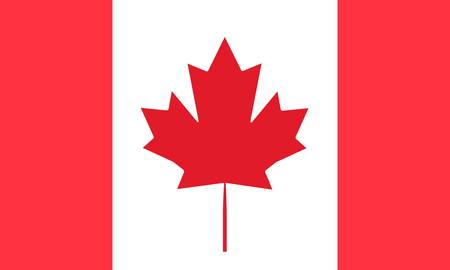 canadian flag: Canada flag Illustration