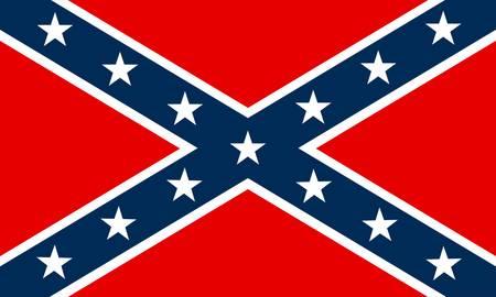 Flagge der Konföderierten