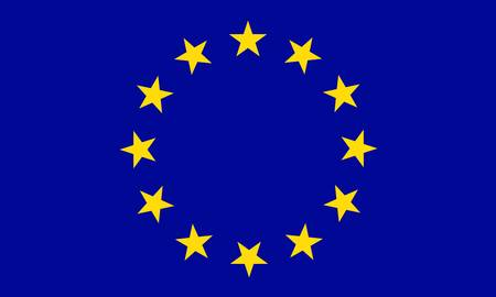 europeans: European Union flag