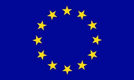 Unione Europea bandiera Archivio Fotografico - 7829492