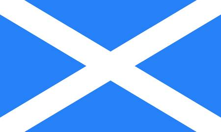 Scotland flag Illustration
