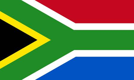 south africa flag: South-African Republic flag Illustration