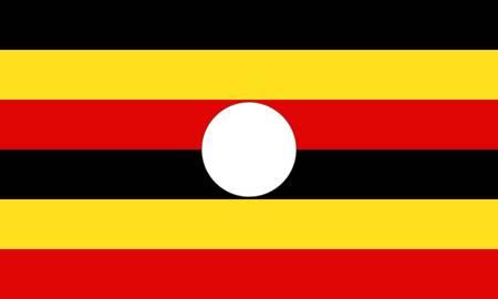 uganda: Uganda flag