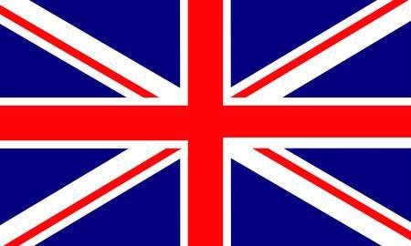 Vereinigten Königreich-flag  Vektorgrafik