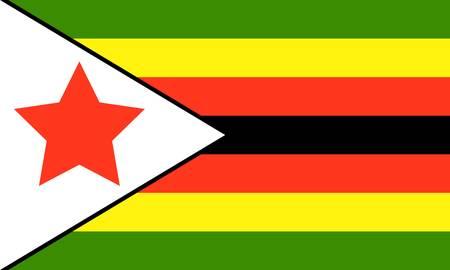 simbabwe:  Simbabwe-flag