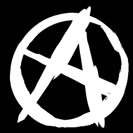 rejection: Punk - Anarchist sign