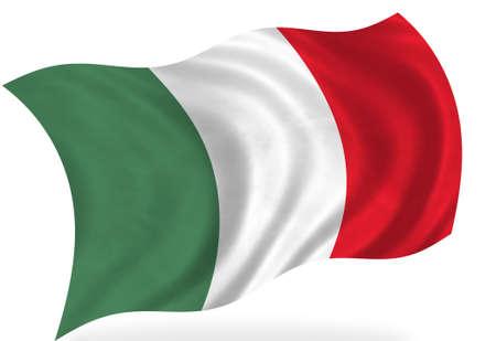 bandera de mexico: Bandera de M�xico, aislado  Foto de archivo