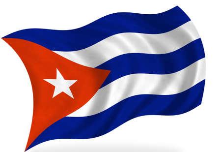 bandera cuba: Bandera de Cuba, aislado