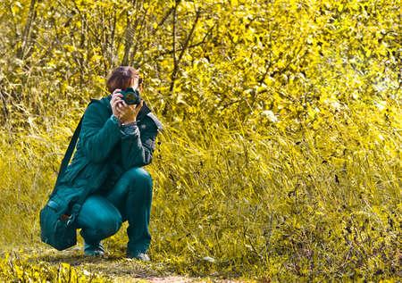 photographer outdoors