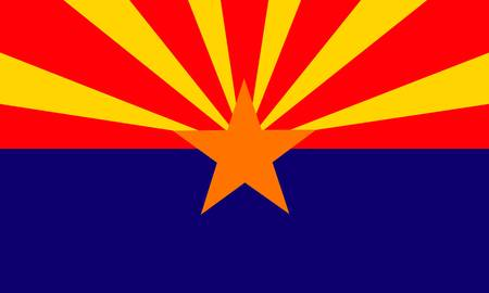 state of arizona: Arizona (USA) flag