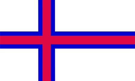 Faeroe Islands flag Stock Vector - 8310634