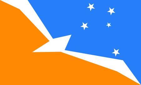 argentine: Tierra Del Fuego (Argentine) flag