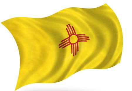 New Mexico (USA) flag