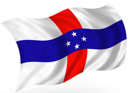 antilles: Antilles islands (Netherlands)  flag