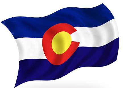 Colorado (USA) flag  photo